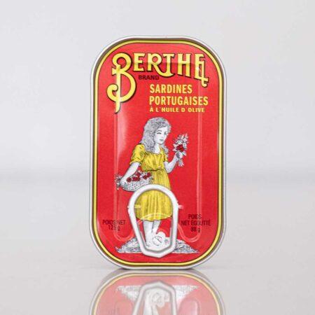 Eingelegte Sardinen in Olivenöl von Berthe