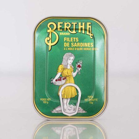 Sardinenfilets in Olivenöl von Berthe